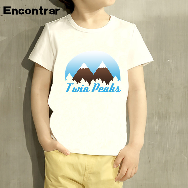 Childrens Twin Peaks Black lodge Flag Design Baby Boys/Girl T Shirt Kids Funny Short Sle ...