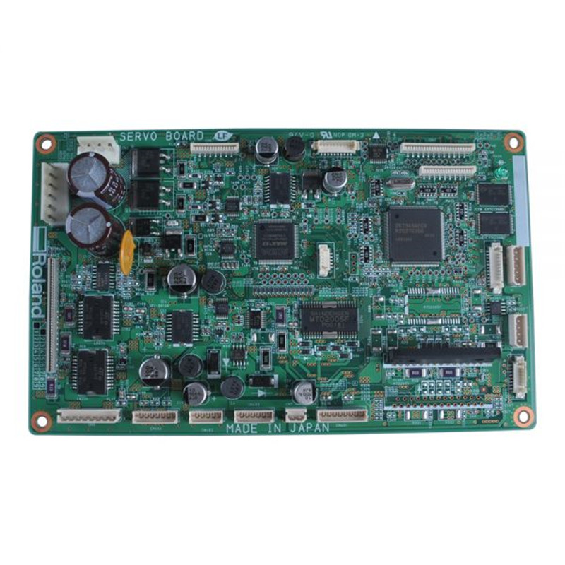 Original Roland VS-640 / VS-300 / VS-420 / VS-540 /VP540 Servo Board 21905166 roland sj 540 sj 740 fj 540 fj 740 6 dx4 heads board
