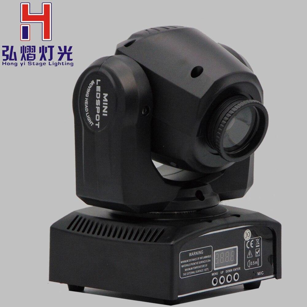 купить dj lights10W LED mini Moving Head spot light DMX stage lighting for dj controller Moving Head Light DJ/Bar/Performance... по цене 5053.86 рублей
