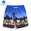 Gailang Marca Homens Shorts Da Praia de Secagem rápida Bermuda Homens Calções Swimwear dos homens Shorts da Carga casuais Verão Hip Hop Mens Board calções