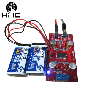 TPA6120 HIFI Headphone Amplifier Board AMP Amplificador Headphone Amplifier Diy Supports Battery Power supply