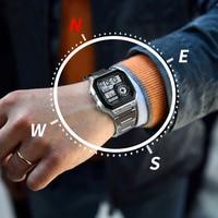 New Men's Outdoor Sports Watches Compass Countdown Pedometer LED Digital Wrist Watch Men Waterproof Clock Male Relogio Masculino