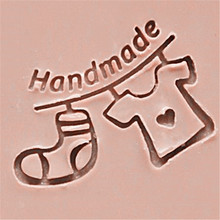 Handmade cute little clothes stamp for soap making Seal Resin Acrylic Stamps