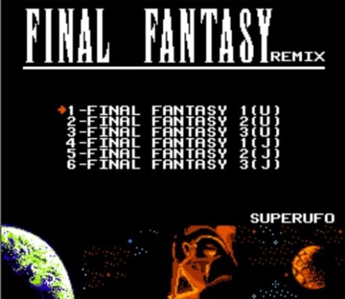 FINAL FANTASY I, II, III - 6 in 1 Game Cartridge for NES Console 1
