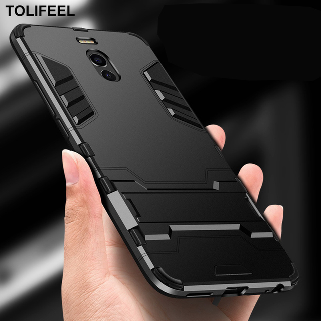 TOLIFEEL For Meizu M5C Case Hard PC Stand Protection Phone Back Cover Shell For Meizu M6 Case A5 M5S MX5 MX6 M6 Note Cases Capa