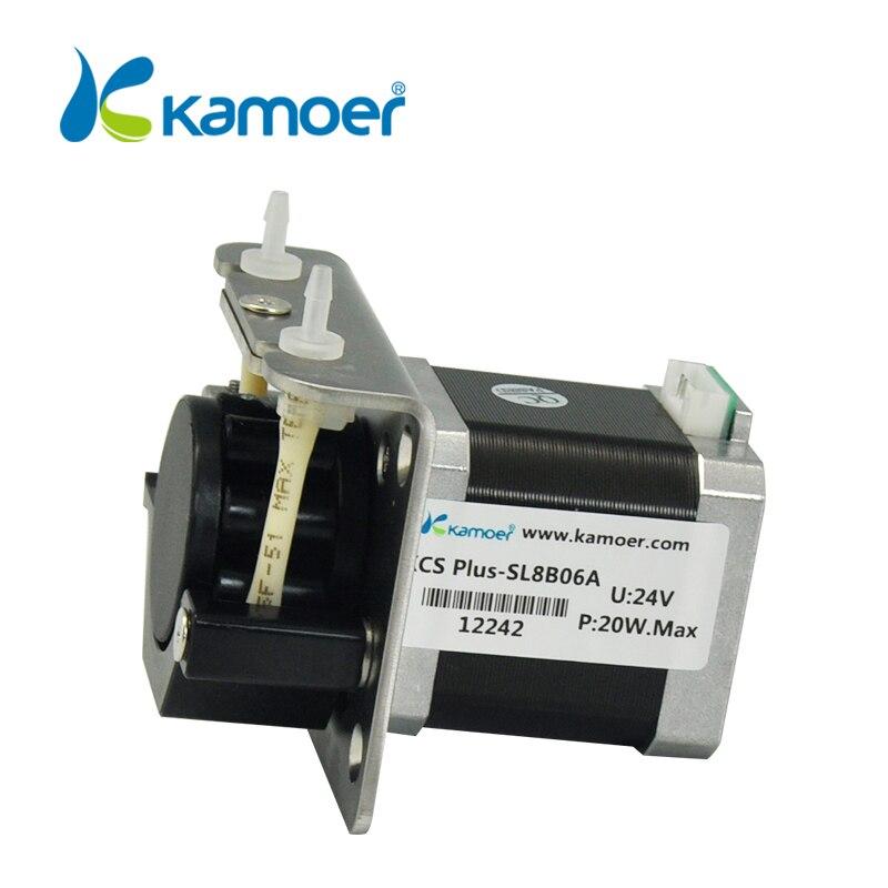 mini peristaltic pump mini electric water pump with high percision micro peristaltic dosing pump Kamoer(L) KCS PLUS steppermotor kamoer kcs mini peristaltic pump stepper motor 24v electric water pump