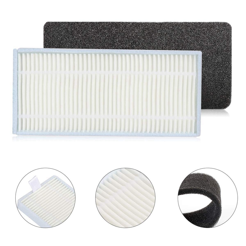 Accessories Kit Compatible With Eufy Robovac 11S, Robovac 30, Robovac 30C, Robovac 15C, Accessory Robotic Vacuum 8X Cleaner Fi