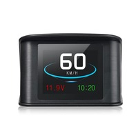Hotselling T600 Colorful Car Speedometer Display GPS OBD HUD Consumption Temperature Universal Auto T600