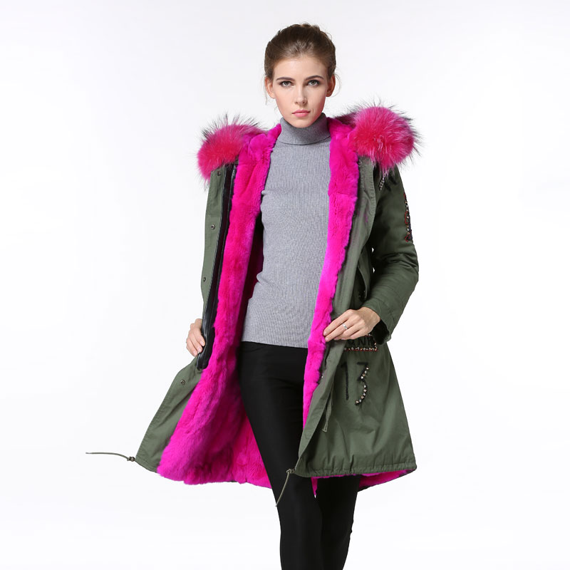 Popular Hot Pink Winter Coat-Buy Cheap Hot Pink Winter Coat lots ...