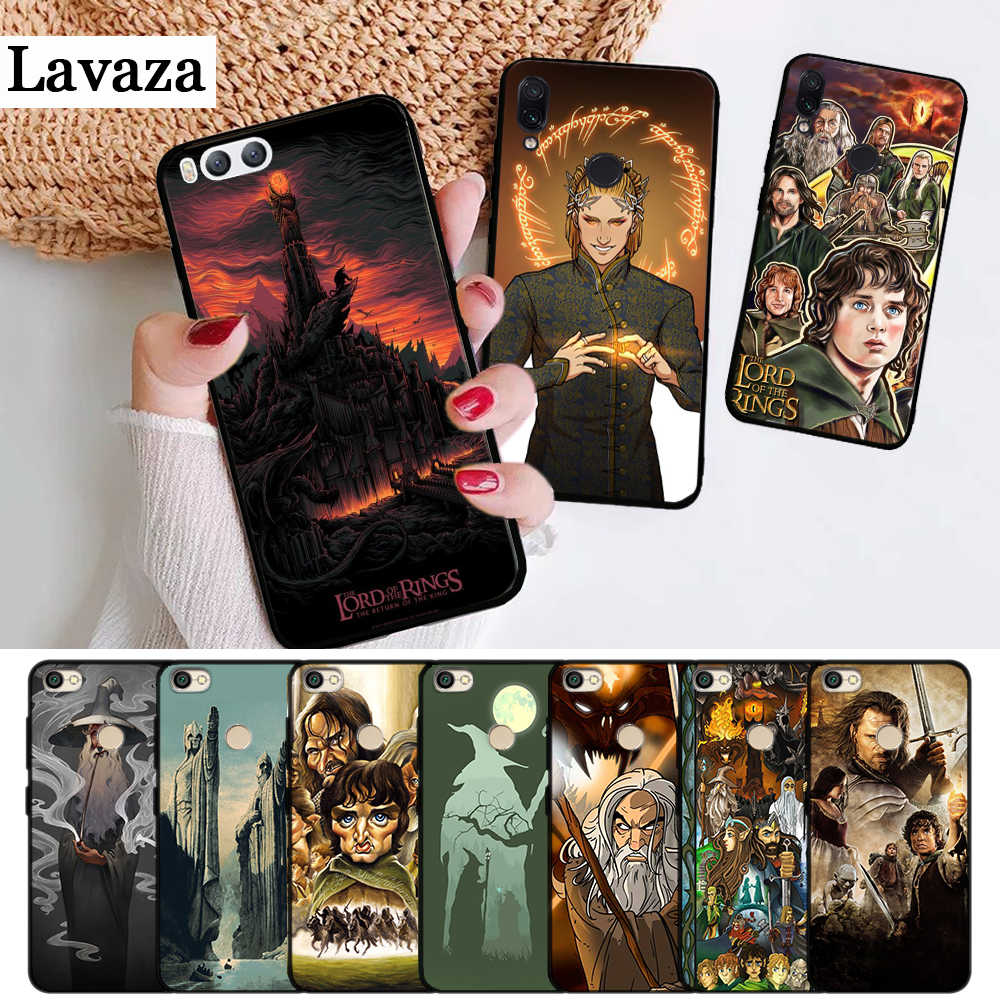 Lavaza the lord of the rings Padrão Capa de Silicone para Xiaomi Redmi 4A 4X 5A 5 Plus S2 6 6A 7A K20 Nota 4 7 Pro Primeiro Ir