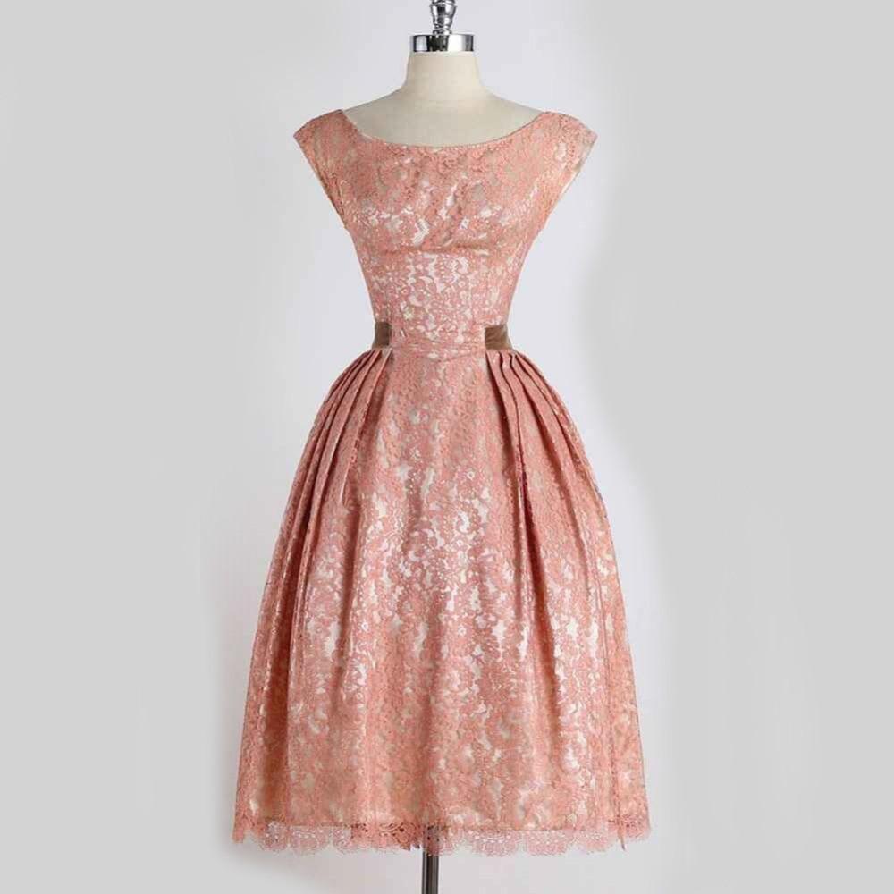 Vintage Cortesano 50 s Vestido de Bola Vestido Vestido Skater ...