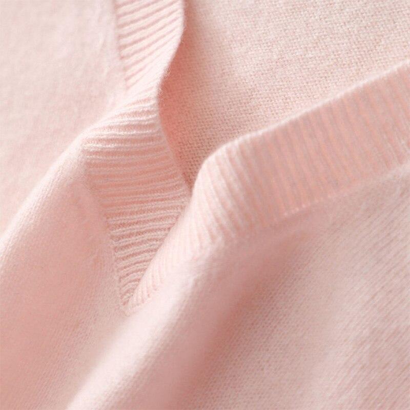 V Pull ivory Cavaliers Cachemire En Col Blue Tricoté Chandail Pulls Rose Automne Manches Femmes 100 À Tricot Femelle Longues Sexy pink De p5YRwxq