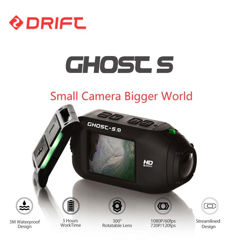 Дрейф Духа S Action Sports Камера мотоцикл велосипед шлем мини-камера с Wi-Fi Водонепроницаемый ЖК-дисплей Экран 160 градусов Широкий формат объектив...
