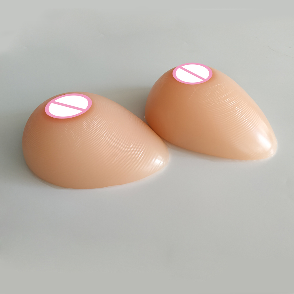 Mastectomy Artificial Silicone Fake Breast For Crossdressers & Transvestites Silicone Breast Forms 800g/pair C Cup Fake Boobs 4600 g pair h hh silicone breast forms mastectomy artificial silicone fake breast for crossdressers and transvestites
