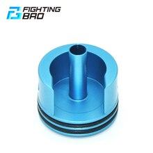 Paintball fightingbro ultra cabeça do cilindro airsoft para ver.2 m4 paintball armas de ar caixa de velocidades aeg acessórios cnc alumínio
