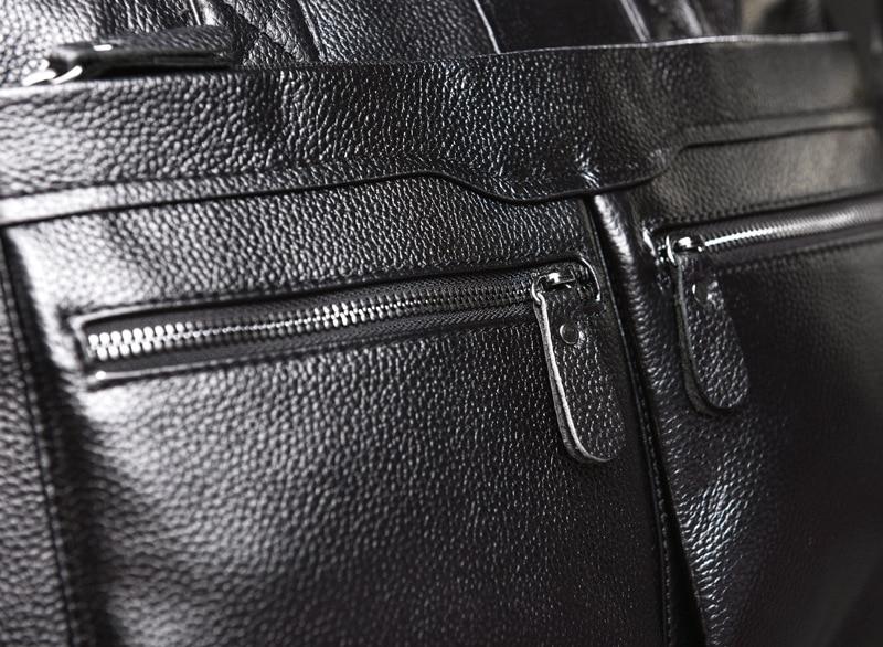 HTB1WBdHL9zqK1RjSZPcq6zTepXan New Luxury Cow Genuine Leather Business Men's Briefcase Male Briefcase Shoulder Bag Men's Messenger Bag Tote Computer Handbag