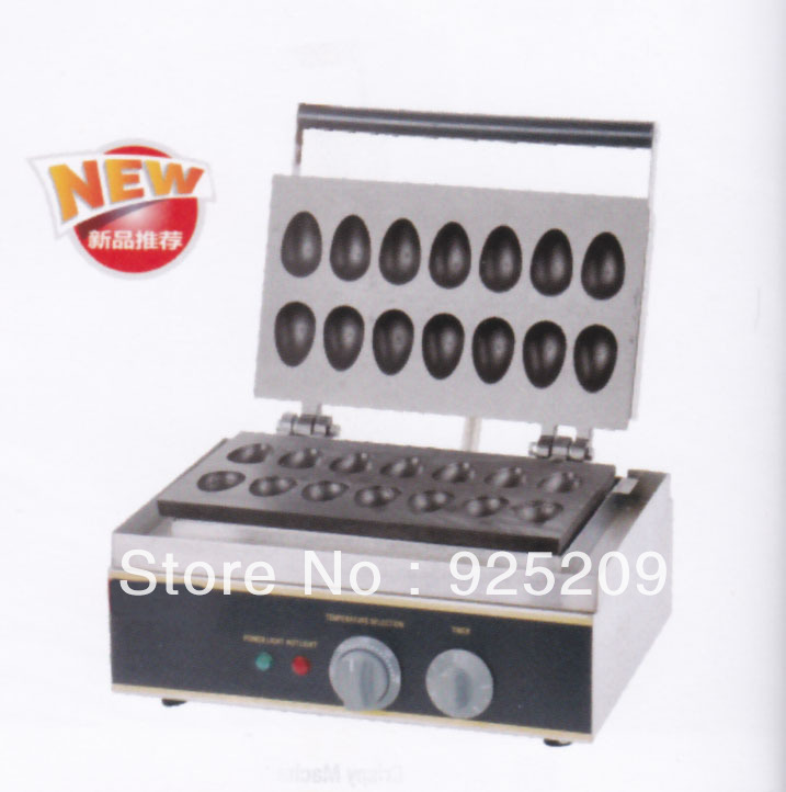 Electric   Non stick  the bird egg shape of the waffle maker/ Quail eggs oven|waffle maker shapes|egg waffle makershape waffle maker - title=