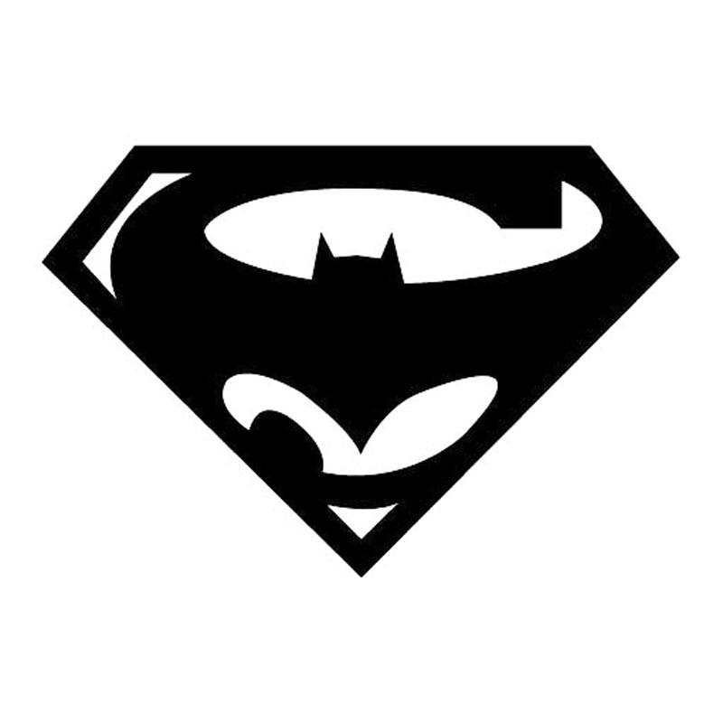 152104 Cm Superman Logo Creatieve Bat Grappige Auto Styling Decal