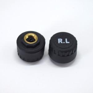 Image 4 - Système de contrôle de pression des pneus, sécurité, capteur Tpms, pour voiture, solaire intelligent, sans fil, 4 roues externes