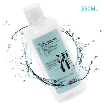 220ML Water Based Lubricants Personal Anal Lubricant Grease for Sex Vaginal Anal Gel easy to clean Massage oil Sex Products Gel 5