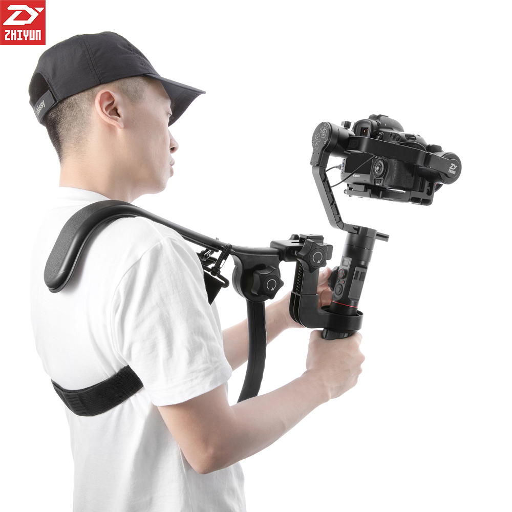 Zhiyun Crane 2 Gimbal Accessories TransMount Shoulder Bracket Holder Support Rig Handle Similar as Easy Rig Ready Rig Atalas