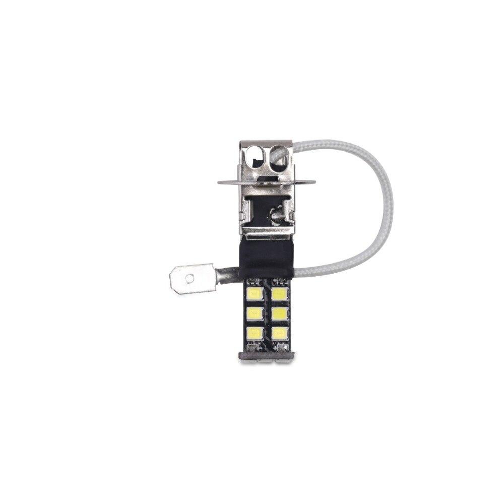배 H3 Canbus는 빛 15SMD 2835 LED 차 LED 정면 빛 헤드 - 자동차 조명 - 사진 4