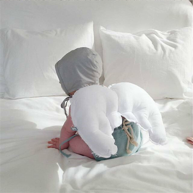 Sleep Angel Kussen.Detail Feedback Questions About Ins Soft Newborn Baby Angel Wings
