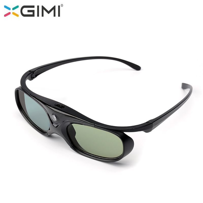 XGIMI 3D Glasses Active Shutter with battery For XGIMI H1 H2 H1S Z4 CC Auora Z6 Z3 Projector and other DLP Link Projector 3d active shutter glasses for dlp link projector