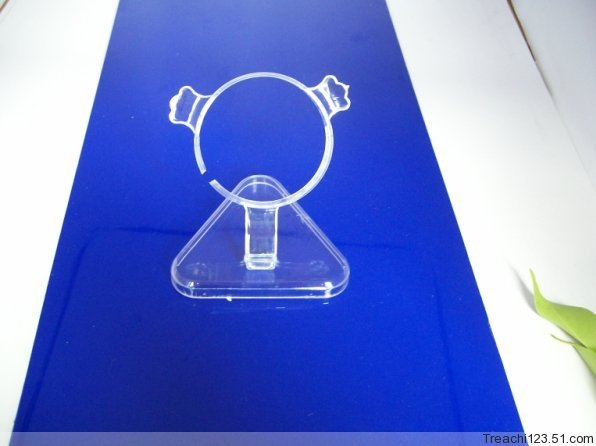 10 шт. Jewelry Дисплей белый прозрачный Caller platistic полка подставка держатель для браслет-цепочка ножной браслет часы Дисплей ...