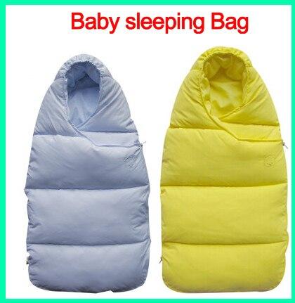 Детские спальный Мешок зимний Конверт для новорожденных спать тепловой мешок Хлопка дети sleepsack в перевозки инвалидных колясок chlafsack