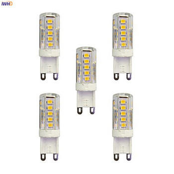 IWHD 2W 100-150lm Creamic G9 LED 220V 33xSMD3528 Dimmable Lamp Bulb Bi-pin Lights Warm White 110V-220V