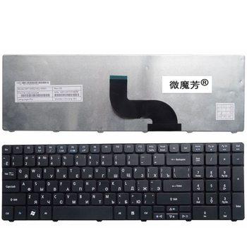 Rosyjski klawiatura do Acer Aspire 5745 5749 5800 5820 7235 7250 7251 7331 7336 7339 7535 SN7105A NSK-ALC0R RU klawiaturze laptopa tanie i dobre opinie Russian Standard NoEnName_Null