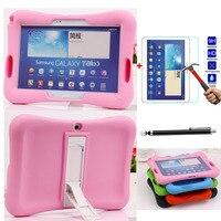 Schokbestendig Rubber Tablet Case Voor Samsung Galaxy Tab 3 10.1