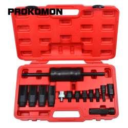 14Pc Diesel Verwijdering Injector Puller Tool Voor Bosch Delphi Denso Siemens