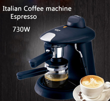 Italian Espresso household semi-automatic fancy coffee machine 730w Commercial steam coffee pot