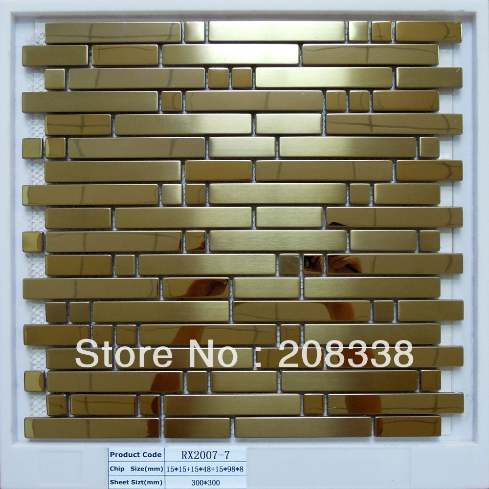 Metal Wall Tiles For Kitchen Online Buy Wholesale Stainless Steel Wall Tiles From China