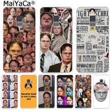 MaiYaCa Best of Dwight Schrute Colorful Phone Case Fashion Cover for Samsung S9 S9 plus S5 S6 S6edge S6plus S7 S7edge S8 S8plus(China)