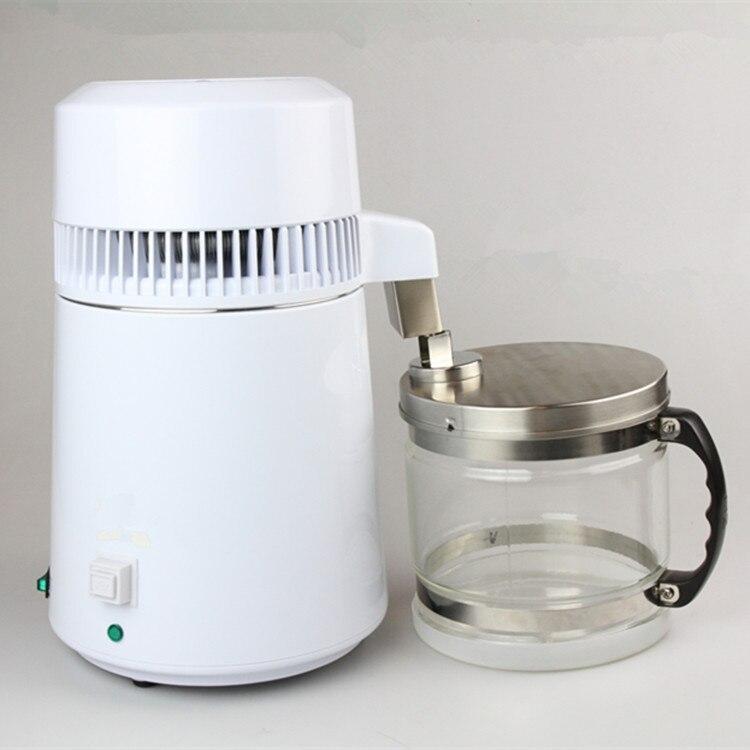 Draagbare Roestvrij Staal Water Distiller Pure Water Filter Waterzuiveraar distilleerder filter behandeling lab & ziekenhuis