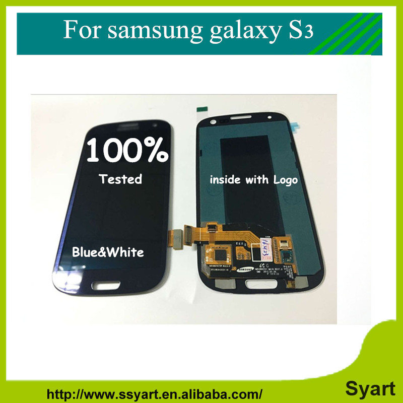 ФОТО Lcd display assembly For Samsung Galaxy S3 i9300 Touch Screen with Digitizer Assembly + Free Tools Free DHL 2PCS