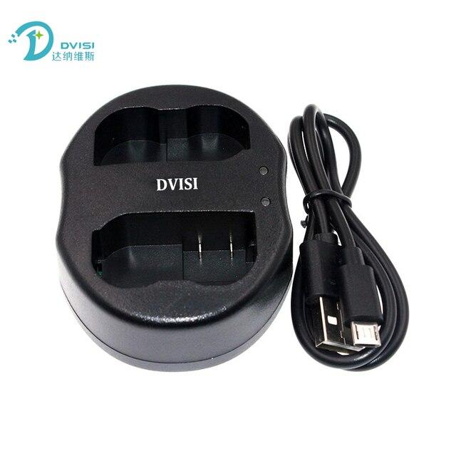 Nuevo DVISI EN-EL15 ENEL15 MH-25 MH25 de batería de la Cámara Dual del cargador del USB para Nikon D600 V1 D800 D800E D7000 D7100 Digital cámara