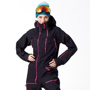 Image 5 - Chaqueta impermeable para mujer, traje de Snowboard, chaqueta de Snowboard para mujer # B7091