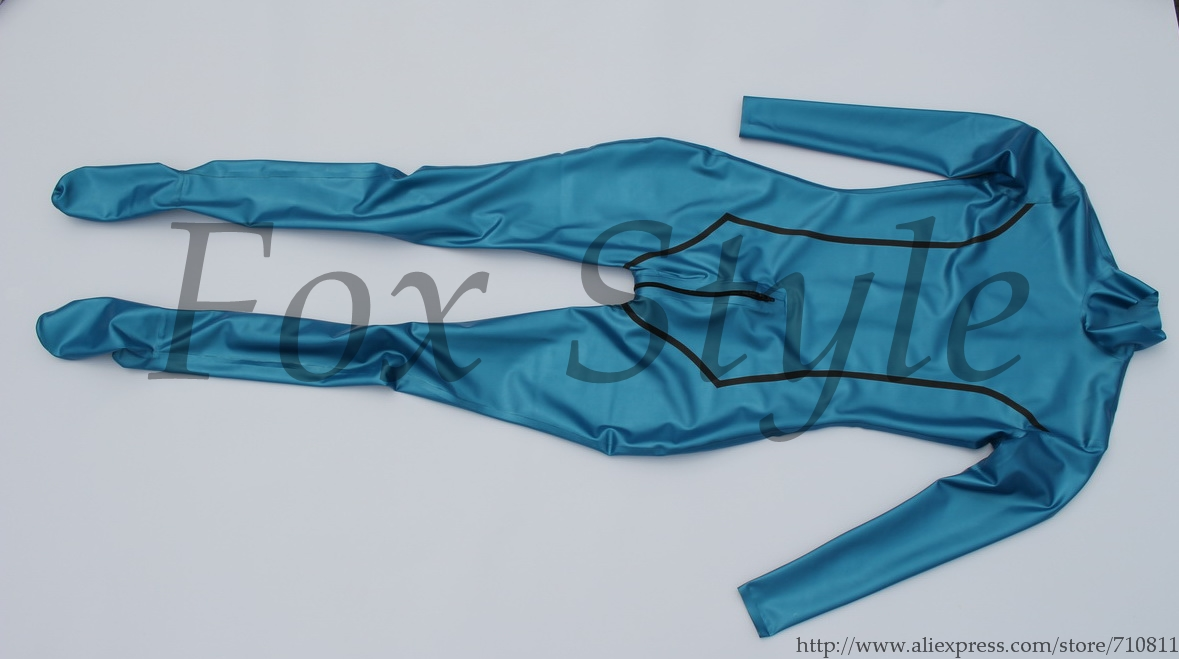 Latex Zentais In Metallic Blue Color Not Gloves Teds Bodysuits From Novelty Special Use On Aliexpress Alibaba Group