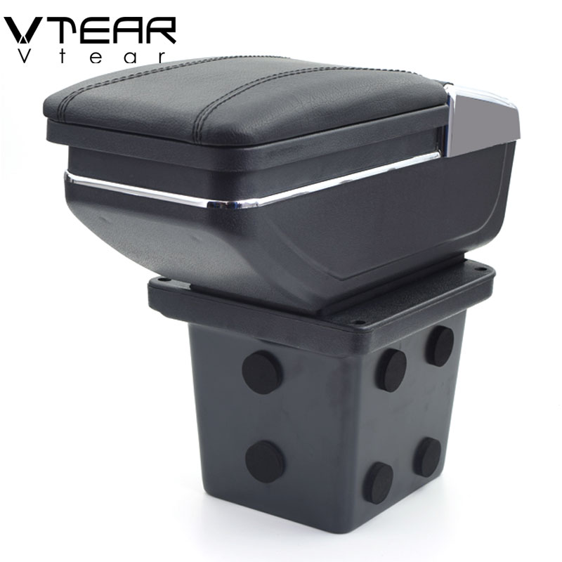 Vtear For Hyundai I30 armrest box content box interior car styling Armrest Storage Center Console decoration