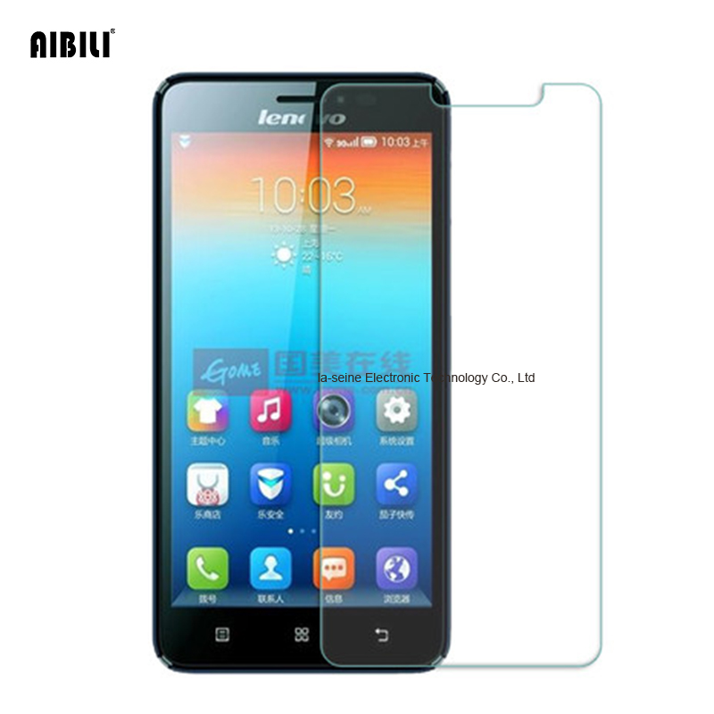 AIBILI For Lenovo S850 Tempered Glass Screen Protector 2.5 9h Safety Protective Film on S 850 S850T 850T 2.5D 9H