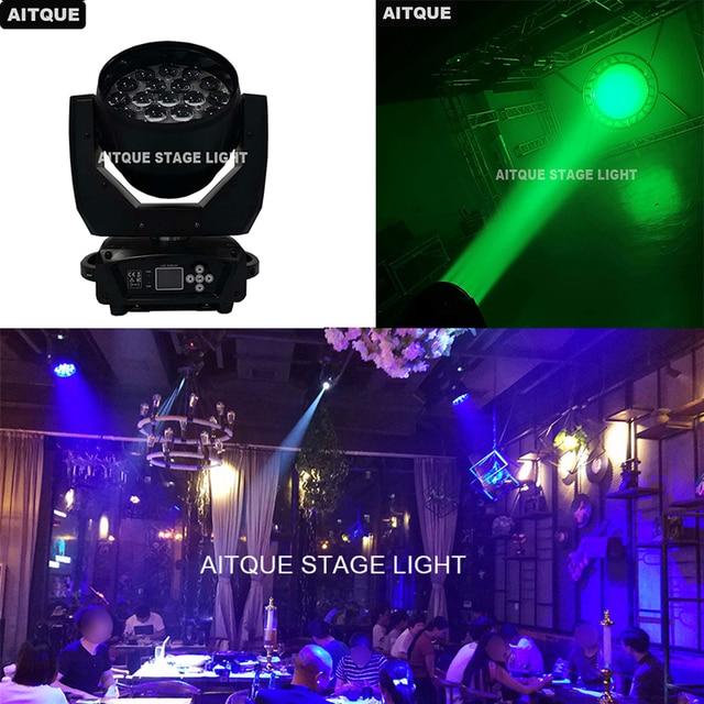 8lot Dj light moving heads led 19x12w led zoom wash rgbw dmx led light moving head