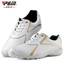 цены PGM Women New Design Professional Outdoor Sports Shoes Golf Shoes Waterproof Anti-skid Adult Lightweight Breathable Golf Shoes