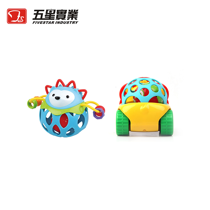 FS TOYS 35789A & 35202A Baby Rattle And Mini Racing Car baby toys for toddlers toy for children pull back car toy free shipping