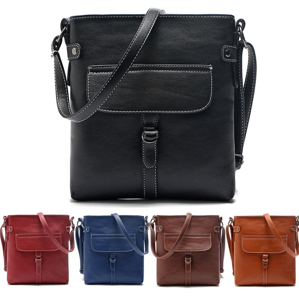 2016 Fashion handbag Lady women Shoulder Bag PU Message bag Cross Body bolsa feminina anne hot