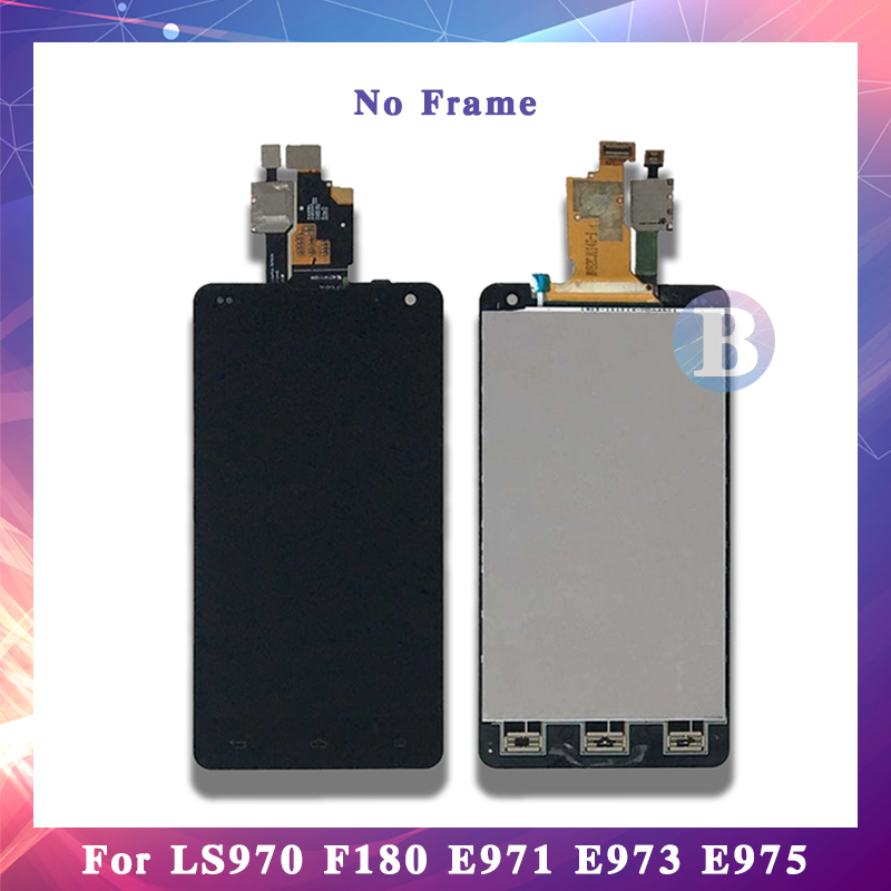 4.7'' For LG Optimus G LS970 F180 E971 E973 E975 LCD Display Screen With Touch Screen Digitizer Assembly High Quality