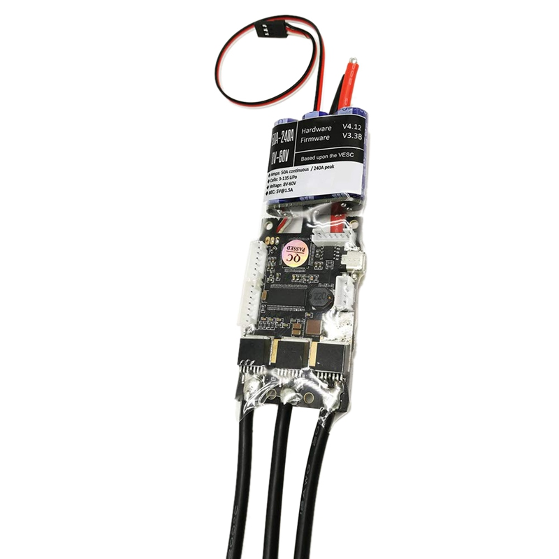 Nouveau Fsesc V4 50A Sk8-Esc W/5 V/1.5A Bec pour planche à roulettes électrique Rc voiture e-bike e-scooter Robot